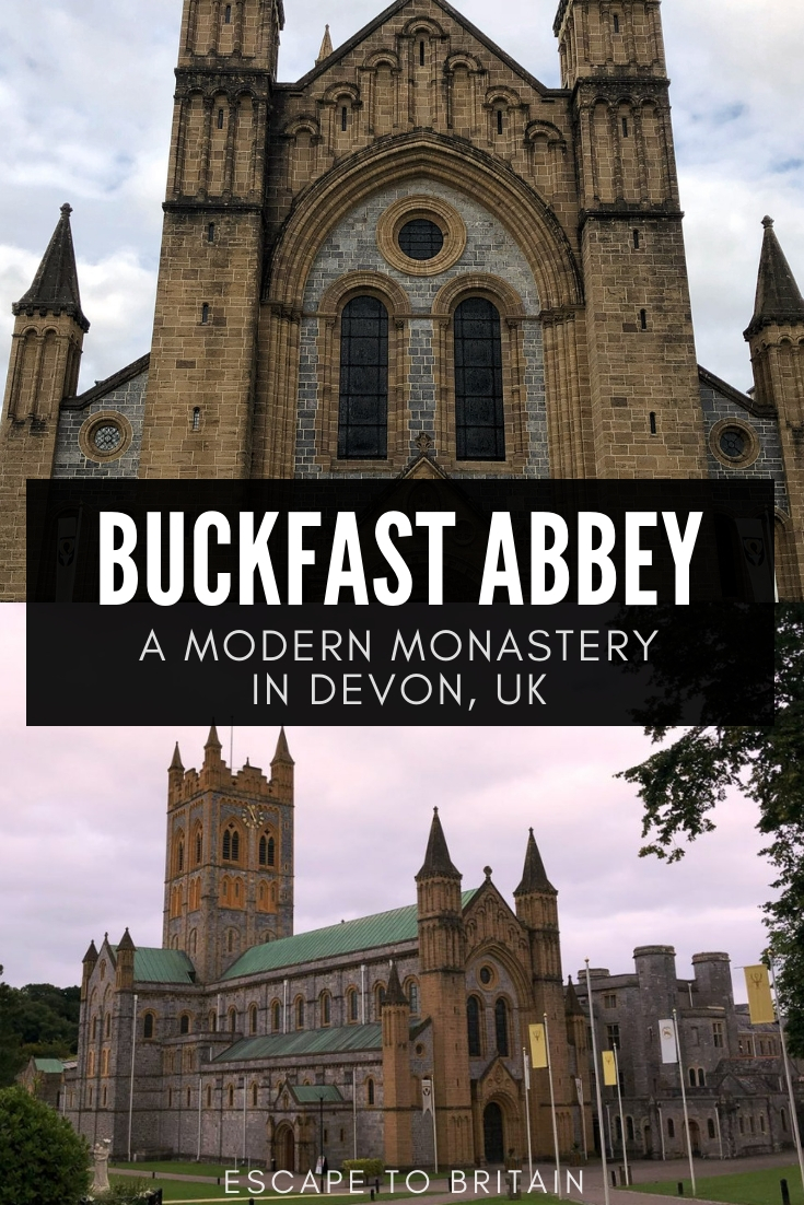 Buckfast Abbey- A Modern Miracle in Dartmoor National Park, Devon, England. Here's a modern monastery built in the 20th-century that you can visit for free in South West England!