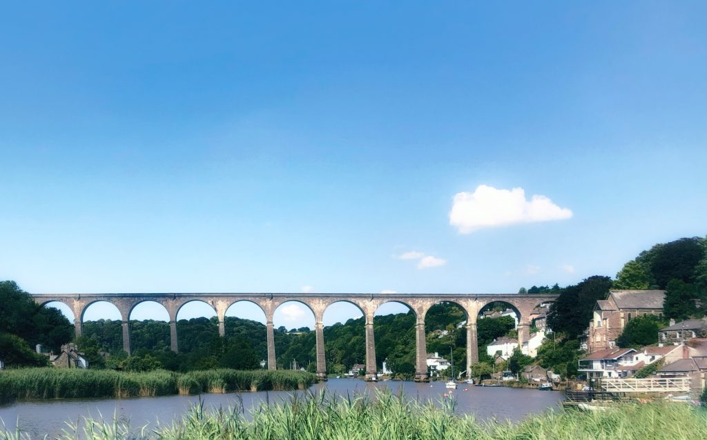 Calstock and its Viaduct - A Graceful Edwardian Masterpiece, Cornwall, England