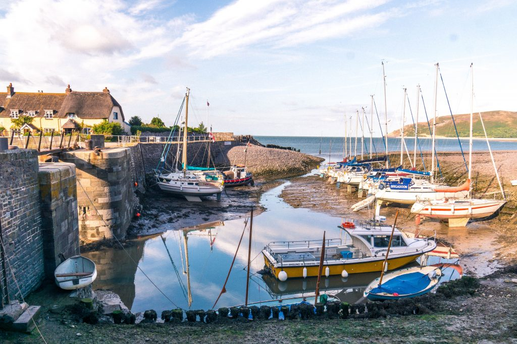 Porlock Weir: A Step Back in Time, Exmoor National Park, Somerset, England. Here are the best things to do in an ancient Somersetshire fishing village.