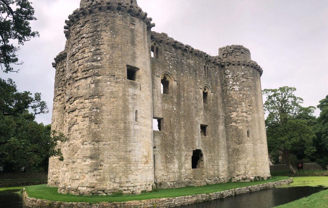 Nunney: A Somerset Village with a Moated Medieval Castle