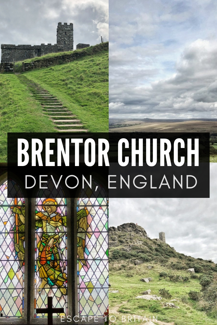 Brentor Church: A Church built on volcanic material in Devon, England. A centuries old ecclesiastical building dedicated to St Michael on the edge of Dartmoor National Park