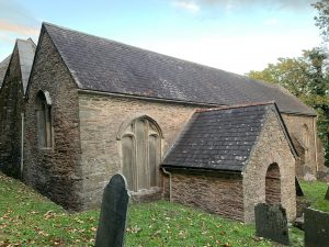 The Medieval Ruined Church of St Peter the Poor Fisherman, Revelstoke, Devon