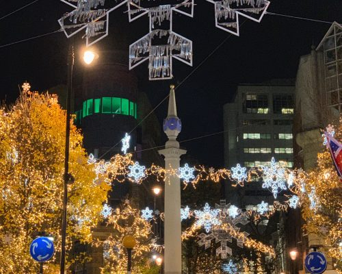 5 Places to Experience Christmas Lights in London, England. Here's where to spot the best of festive decorations in the UK capital city!
