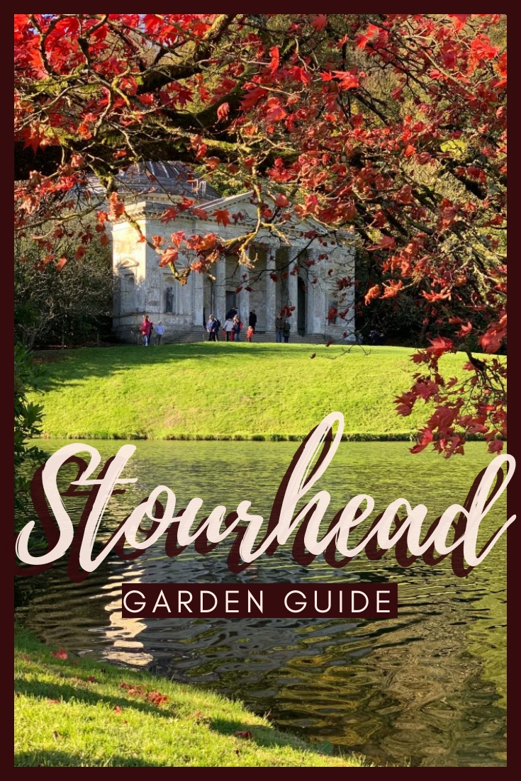 Stourhead: A Garden For All Seasons in Wiltshire, England. Here's your complete guide on the beautiful autumnal gardens of Stourhead; how to visit and attractions to see once there!