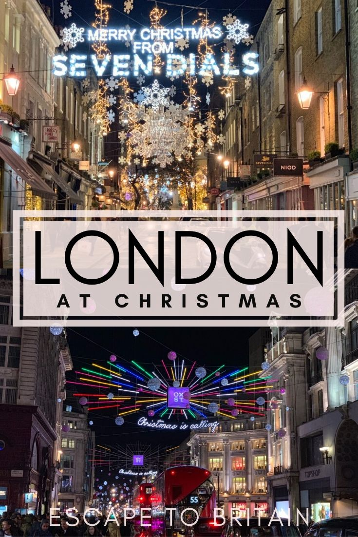 London at Christmas: 5 Places to Experience Christmas Lights in London, England Festive things to do in London!
