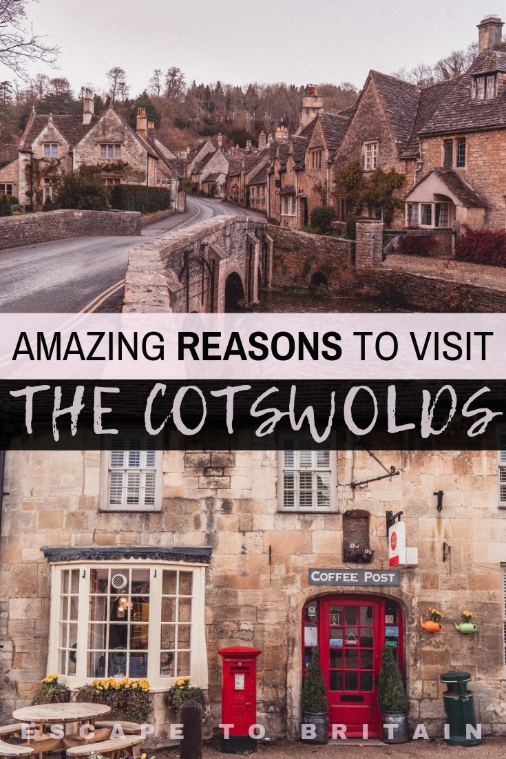 Want to enjoy one of the most beautiful places to visit in England? Here are some incredible reasons to visit the Cotswolds and add this stunning area to your UK bucket list!