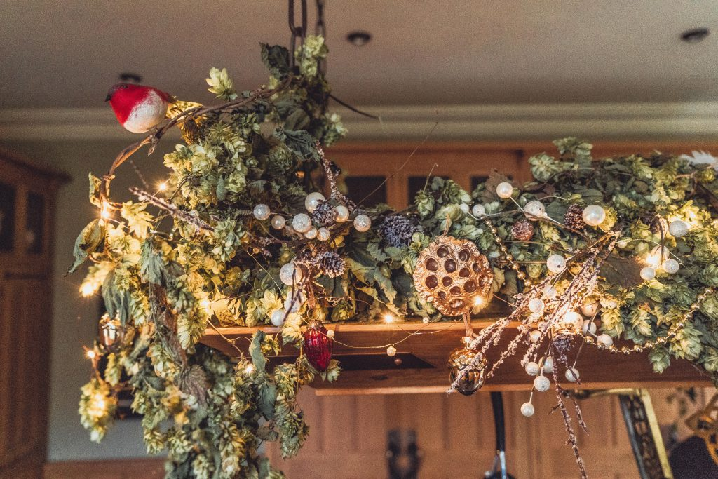 Dried Hops Garland Decoration Inspiration 3 Inspired Ideas Etb