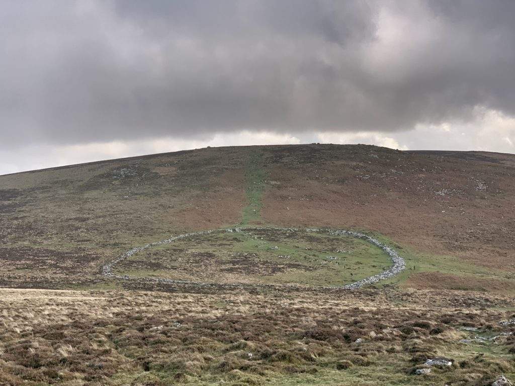 Grimspound; a late Bronze Age settlement in the middle of Dartmoor National Park, Devon, England