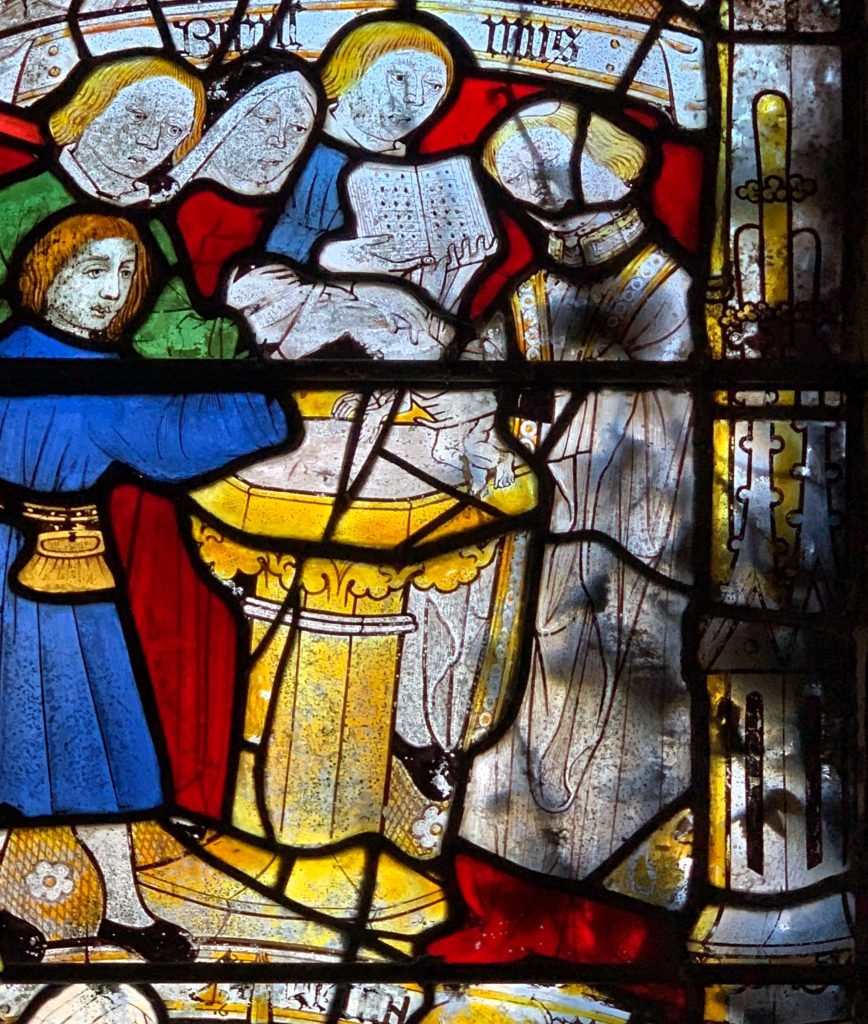 Doddiscombsleigh Church: Home to Beautiful Medieval Stained Glass