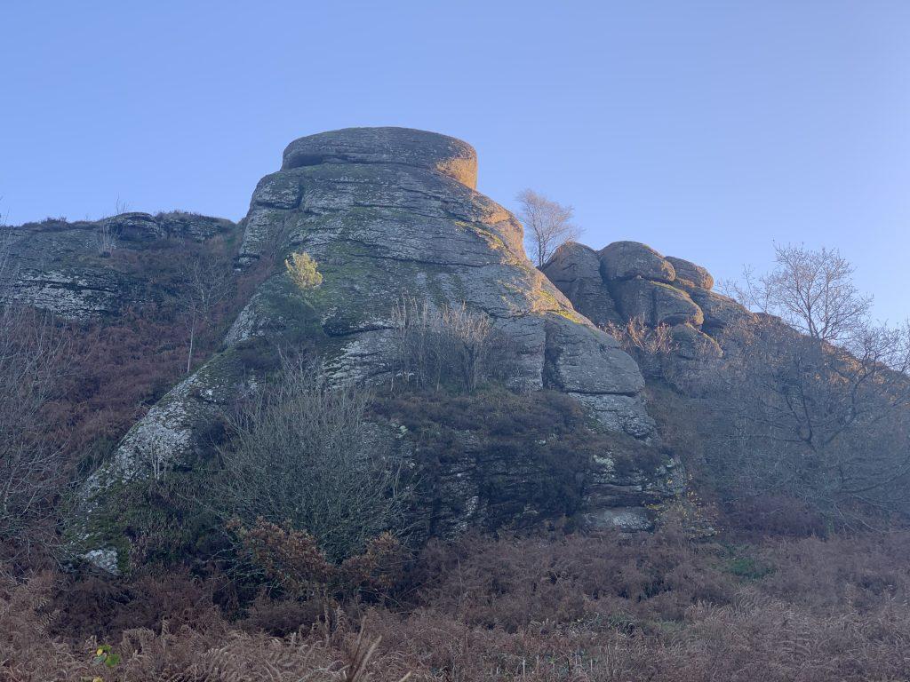 Two Tors on the Edge of the Moors: Blackingstone Rock & Heltor, Dartmoor National Park, Devon, England