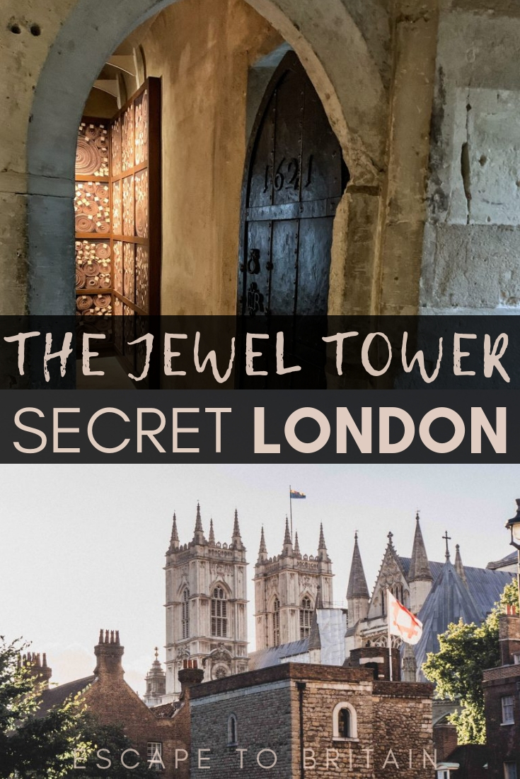 Secret London: here's how to visit the Jewel Tower of Westminster Abbey, a medieval attraction in the heart of Central London, England