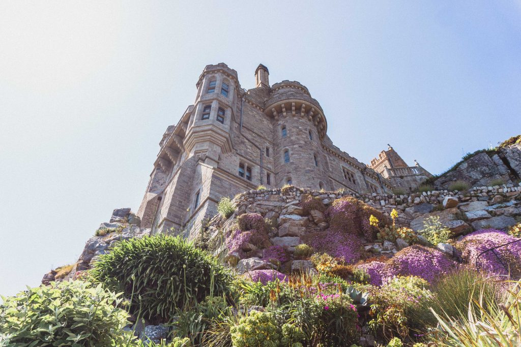 St Michael's Mount Garden: A Tropical Paradise in Cornwall England (the best beautiful gardens in Britian)