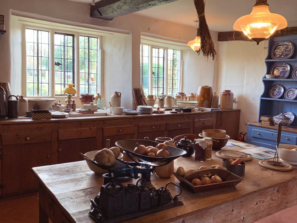 Kitchen at Avebury Manor, Wiltshire