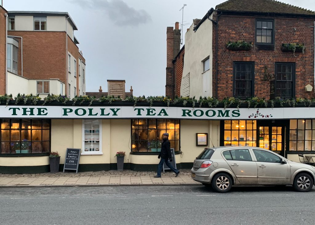 Polly Tea Rooms, Marlborough High Street