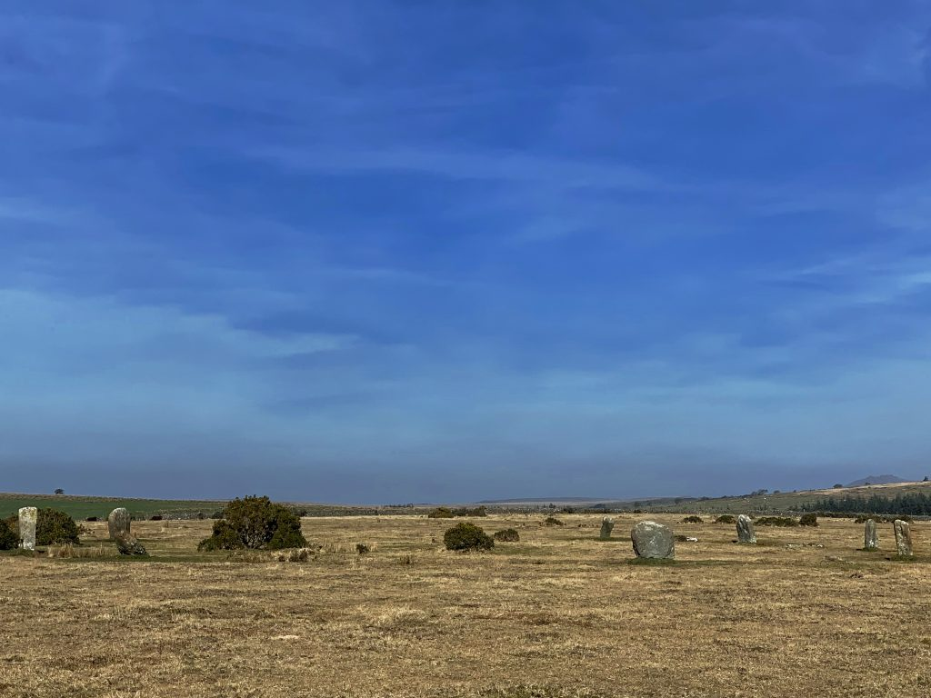 Trippet Stone Circle, near Blisland, Bodmin Moor