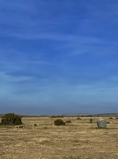 Trippet Stones Circle, King Arthur's Common, near Blisland, Bodmin Moor