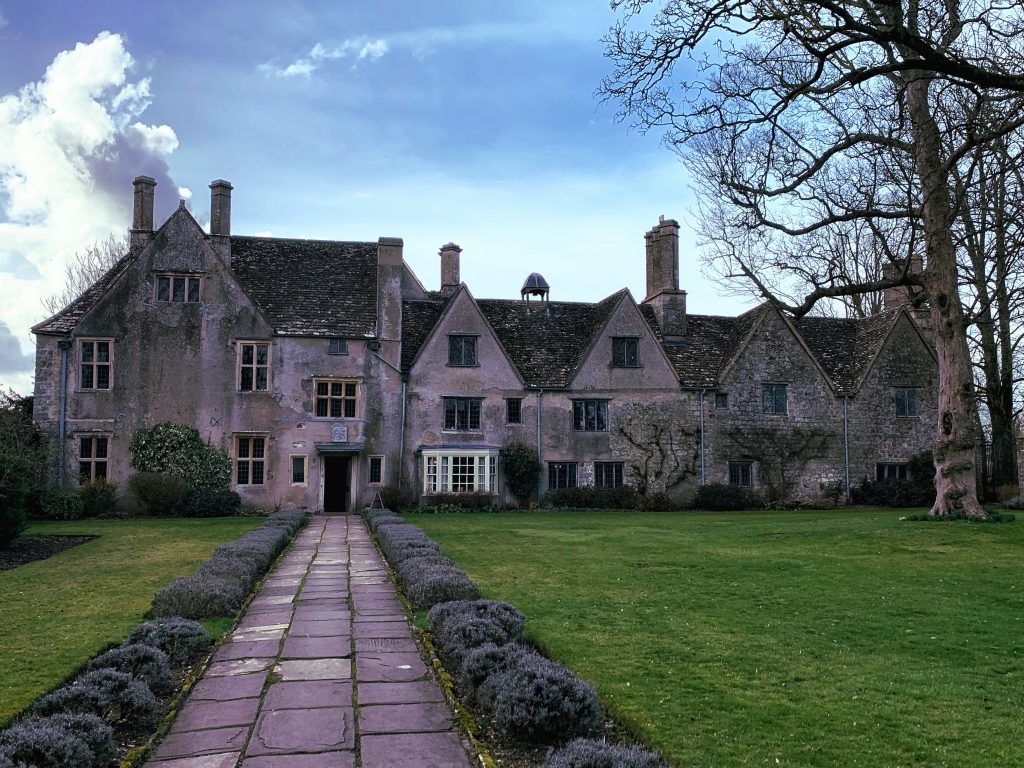 View of Front Elevation of Avebury Manor
