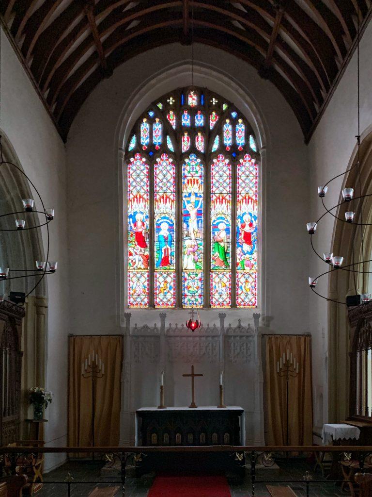 The Chancel at the Church of All Saints, Malborough, South Hams, Devon