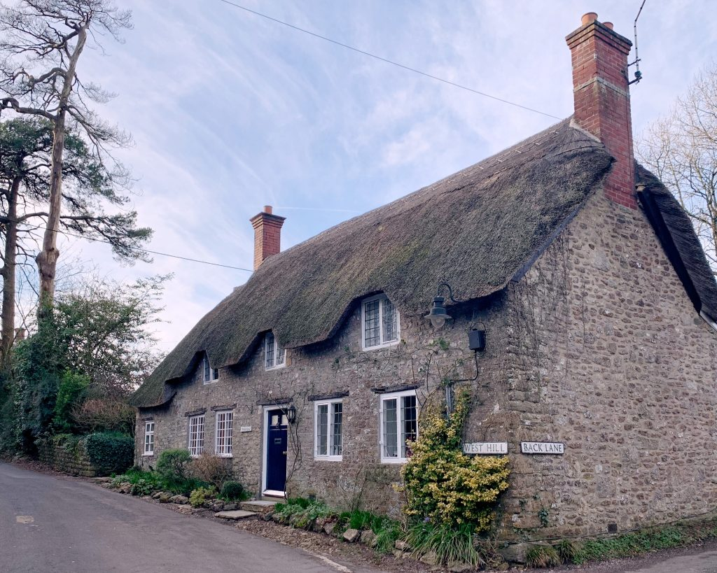 View of Tess Cottage, West Hill, Evershot, Dorset