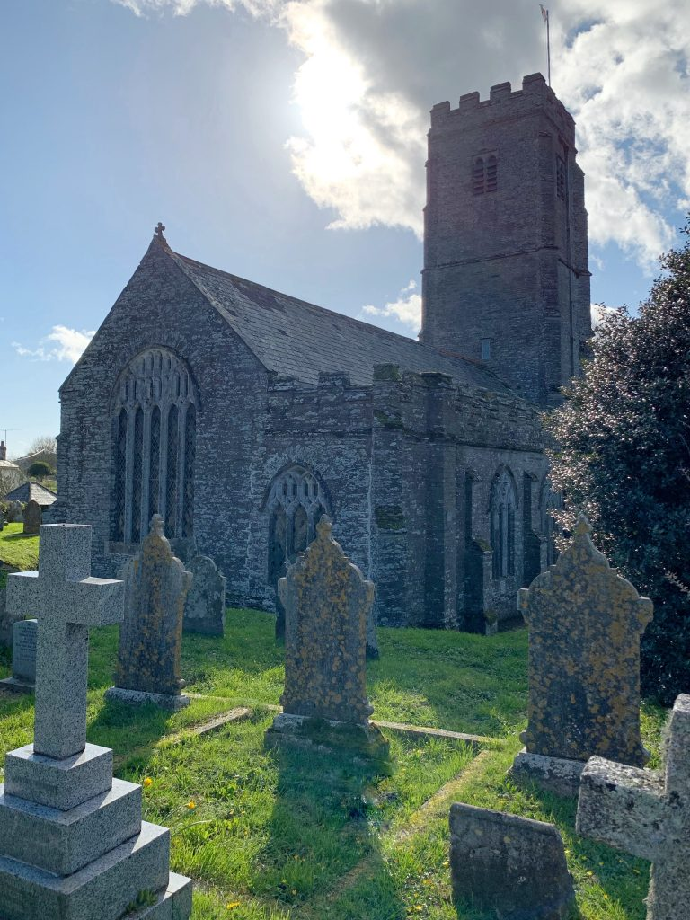 Exterior of St. Martin's Church, Sherford, the South Hams, Devon