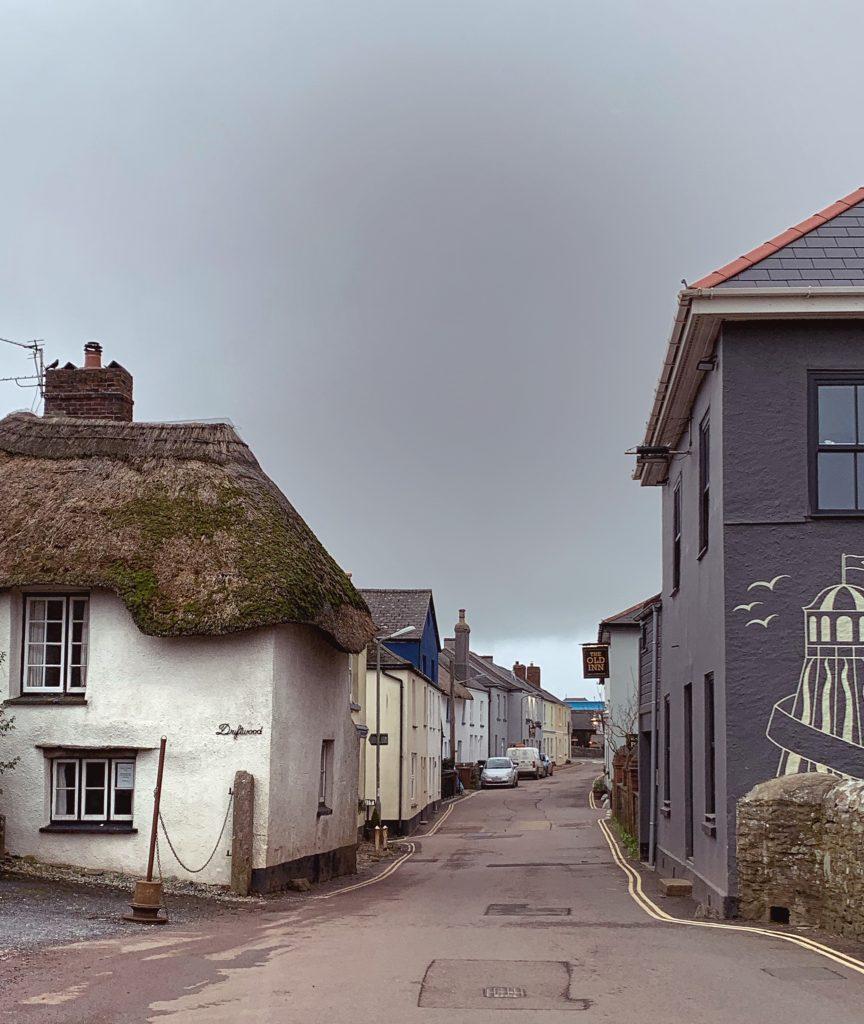 Cottages in Malborough Village, the South Hams, Devon