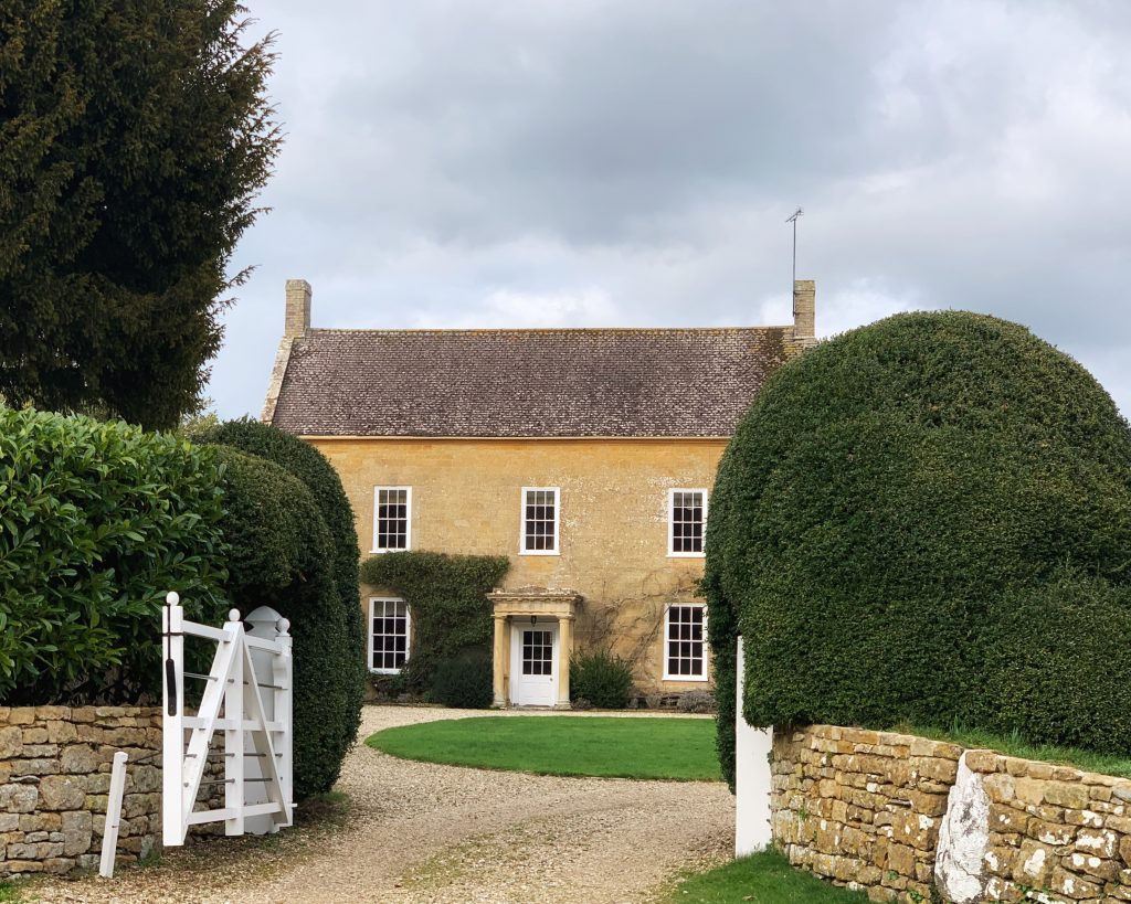 The Manor House next to the Church of St Mary the Virgin, Compton Pauncefoot, Somerset