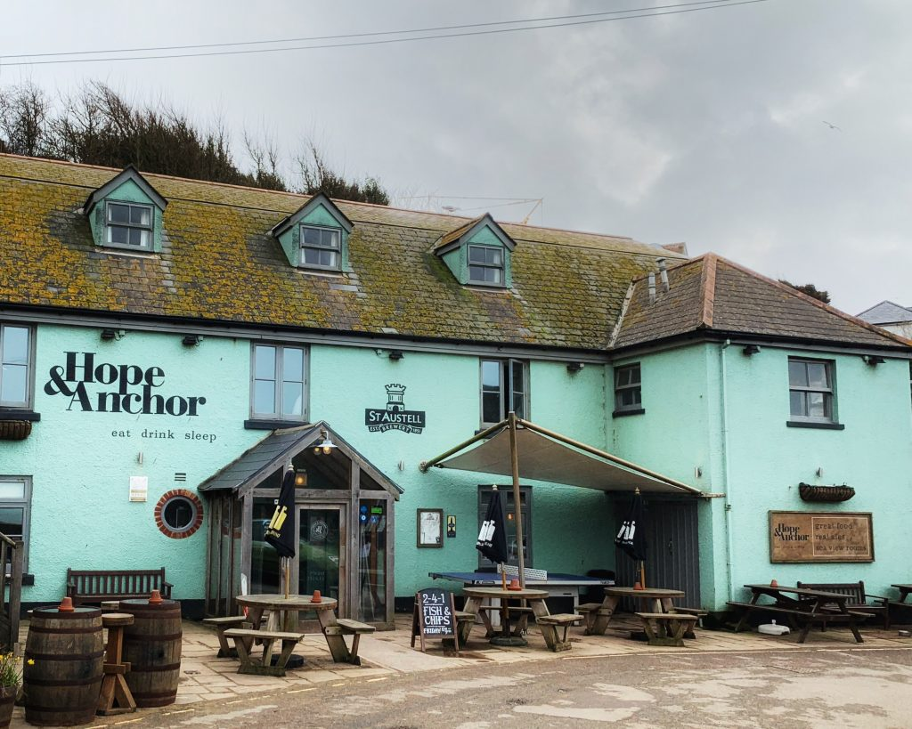 The Hope and Anchor at Hope Cove, the South Hams, Devon