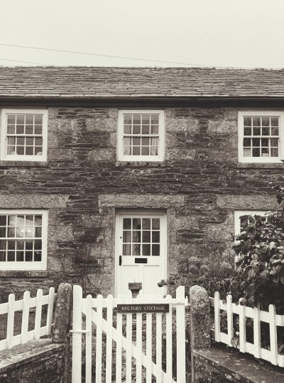 Exterior of Rectory Cottage, Blisland, Bodmin Moor, Cornwall