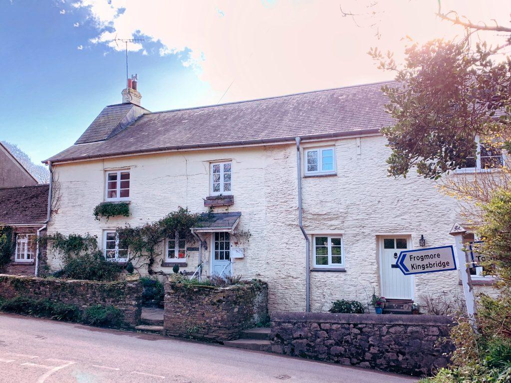 Cottage at Sherford village in the South Hams, Devon