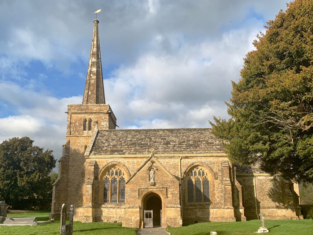 Exterior of the Church of St Mary the Virgin, Compton Pauncefoot, Somerset