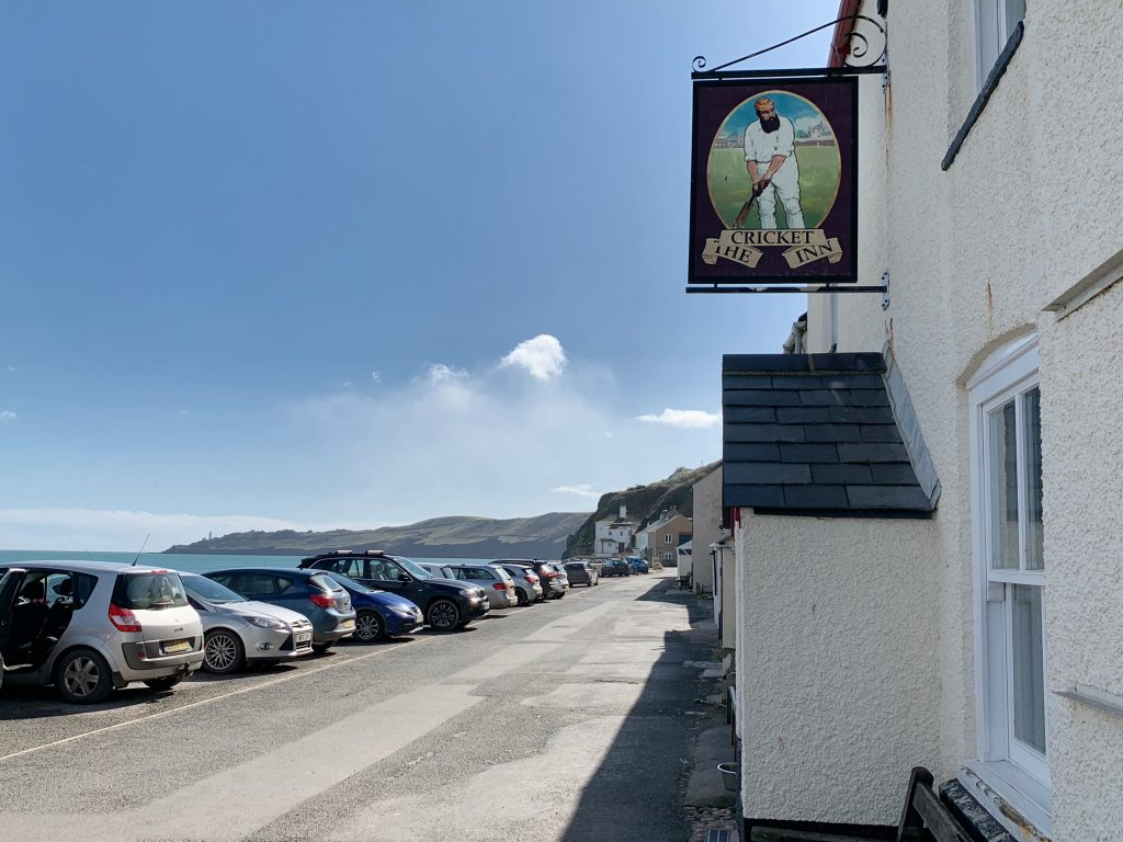 The Cricket Inn at Beesands, a small fishing village in the South Hams, Devon
