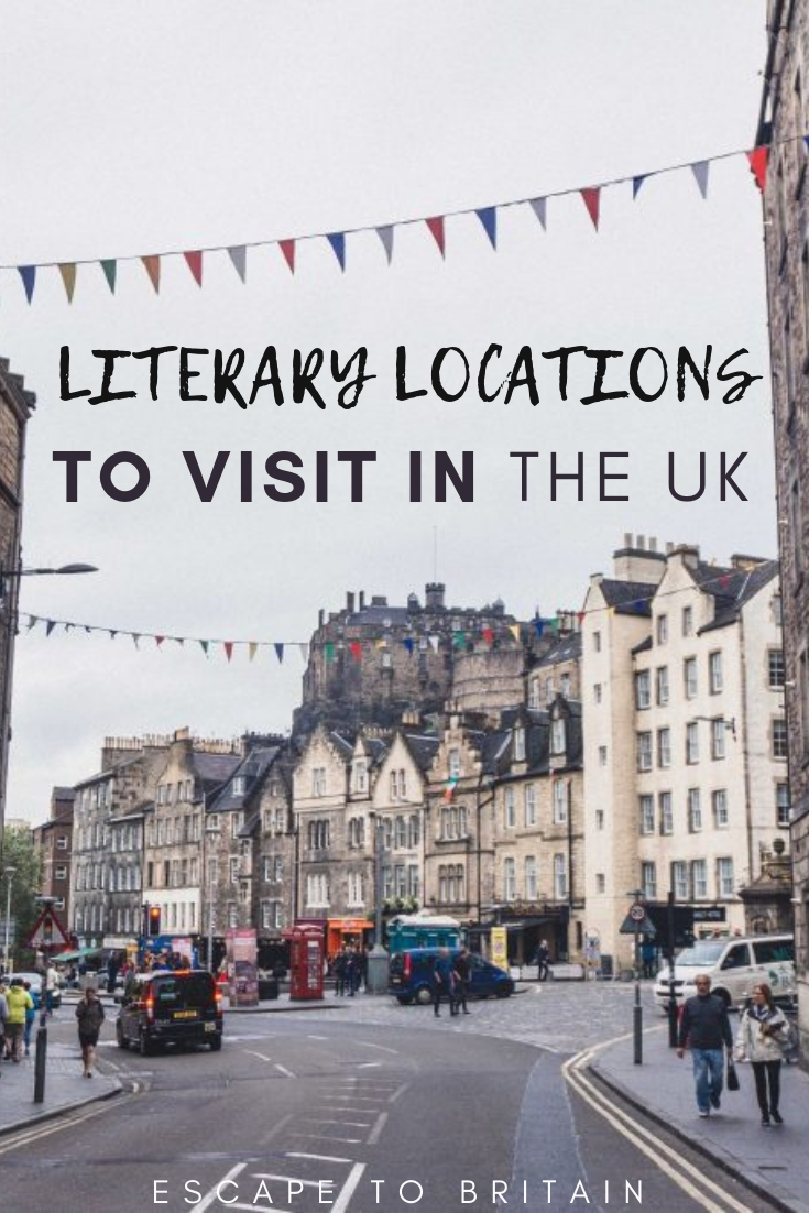 Love book and travel inspired by works of literature? Here are the best book themed literary locations in the UK that bibliophiles will absolutely love!