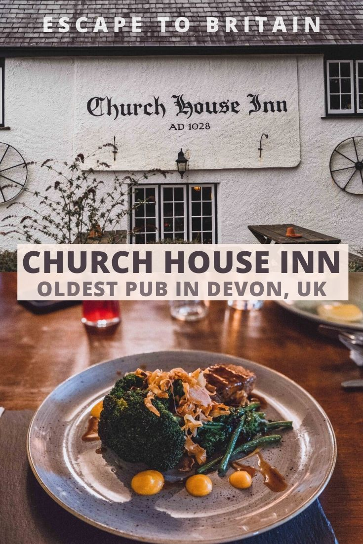 The Church House Inn: Dining in One of the Oldest Pubs in Devon. How to visit the rattery pub in Devon, South West England