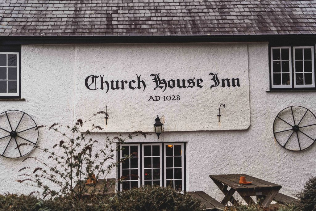 Church house inn, Rattery, Devon, Church Exterior