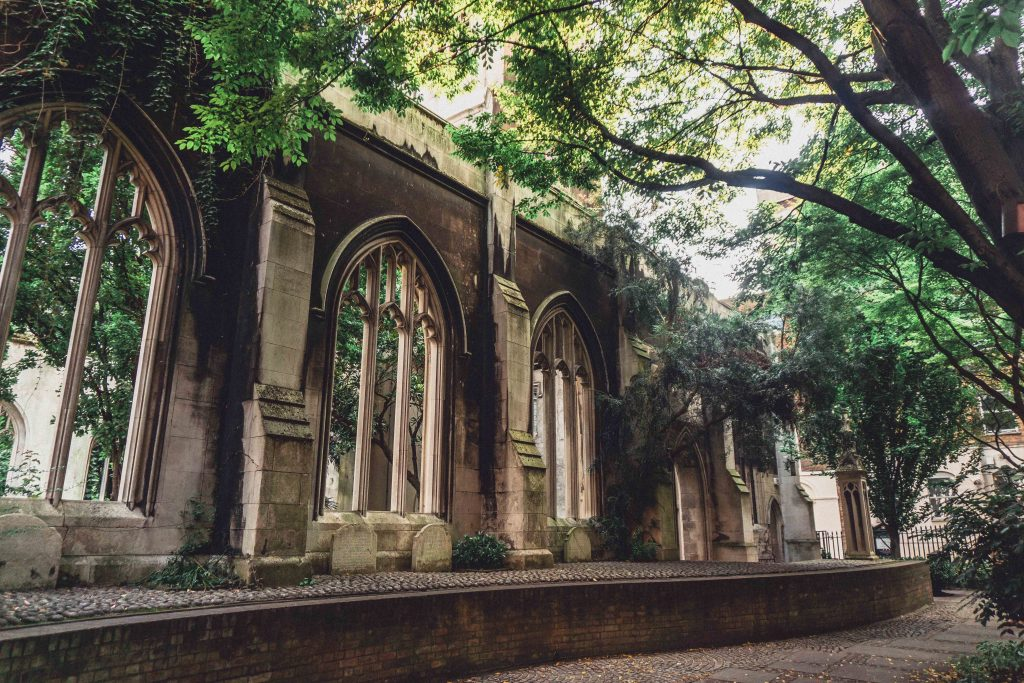 Summer in St Dunstan in the East
