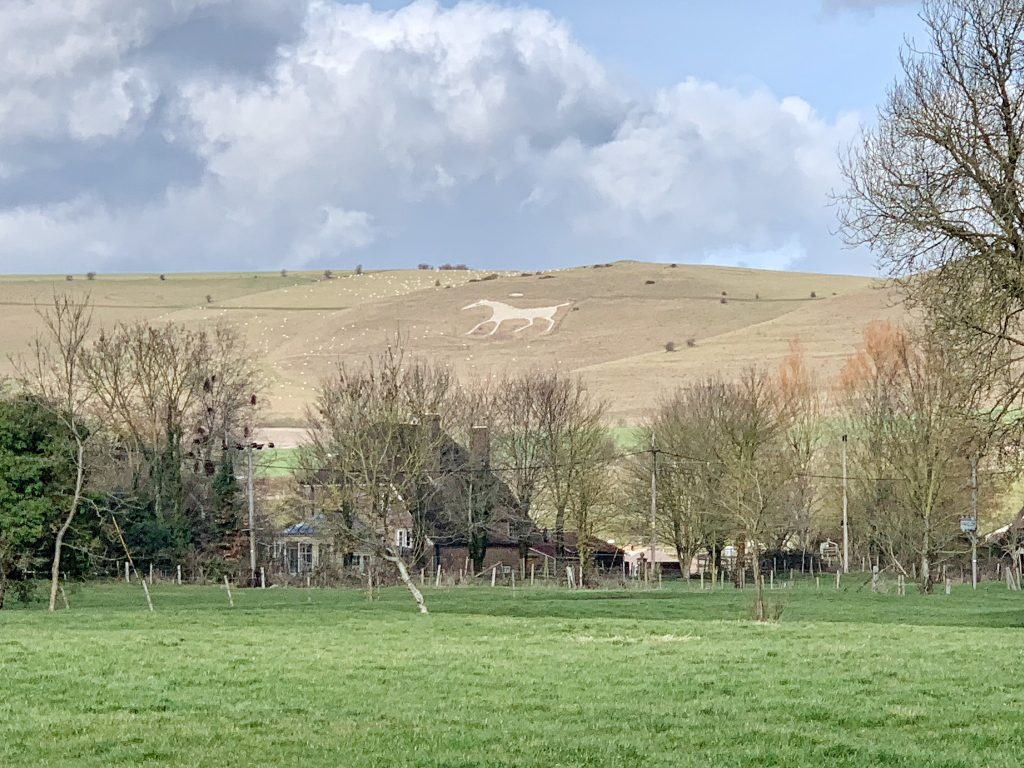 Alton Barnes White Horse, Milk Hill, Vale of Pewsey, Wiltshire