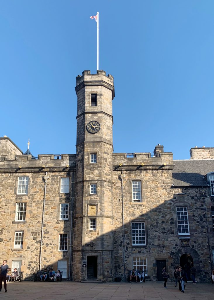 The Royal Palace at Edinburgh Castle