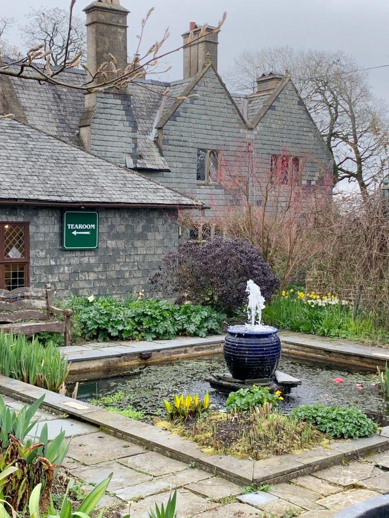The Tearoom at Hill House Nursery, Landscove, Devon