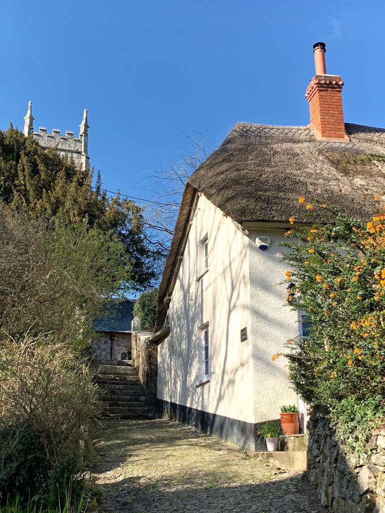 The Church Cottage at Cheriton Bishop, Devon