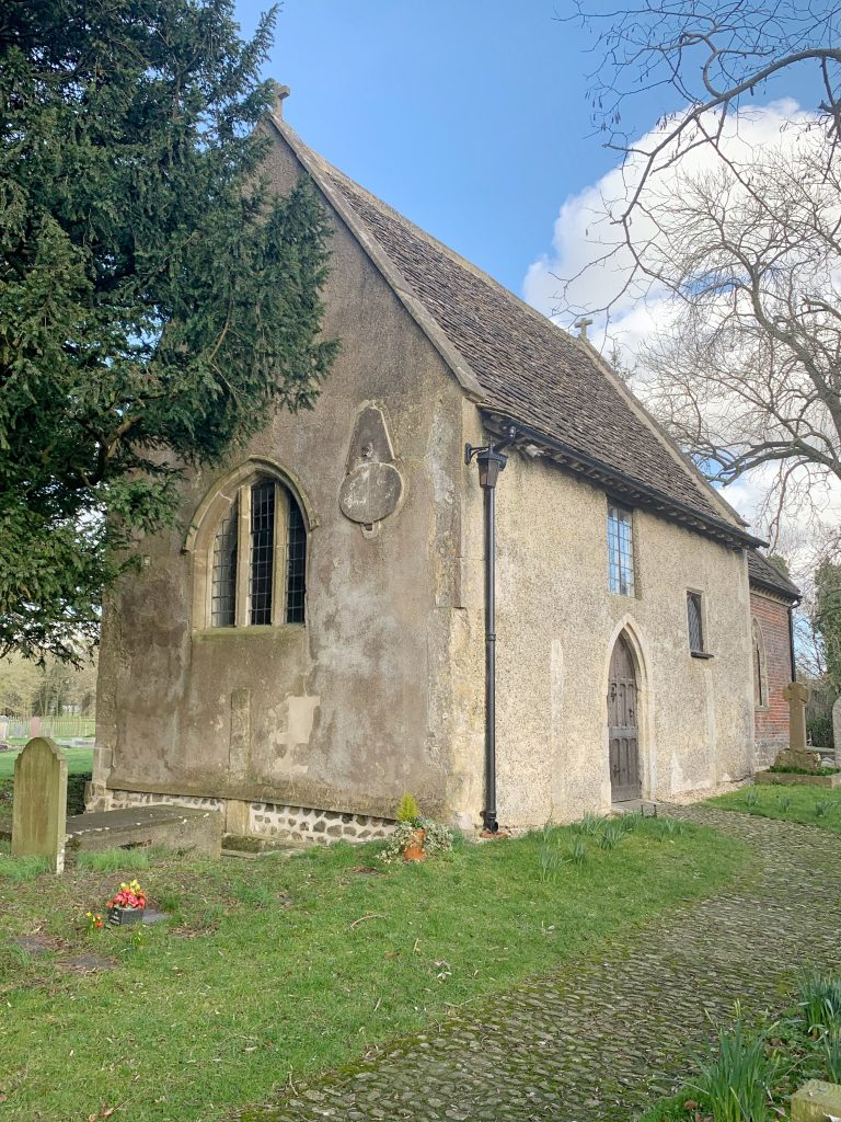 Exterior of the Church of St Mary the Virgin at Alton Barnes I the Vale of Pewsey, Wiltshire