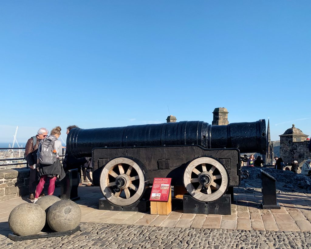 'Mons Meg' Cannon at Edinburgh Castle
