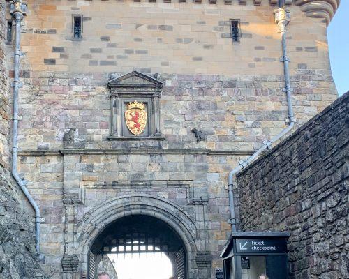 Portcullis Gate at Edinburgh Castle