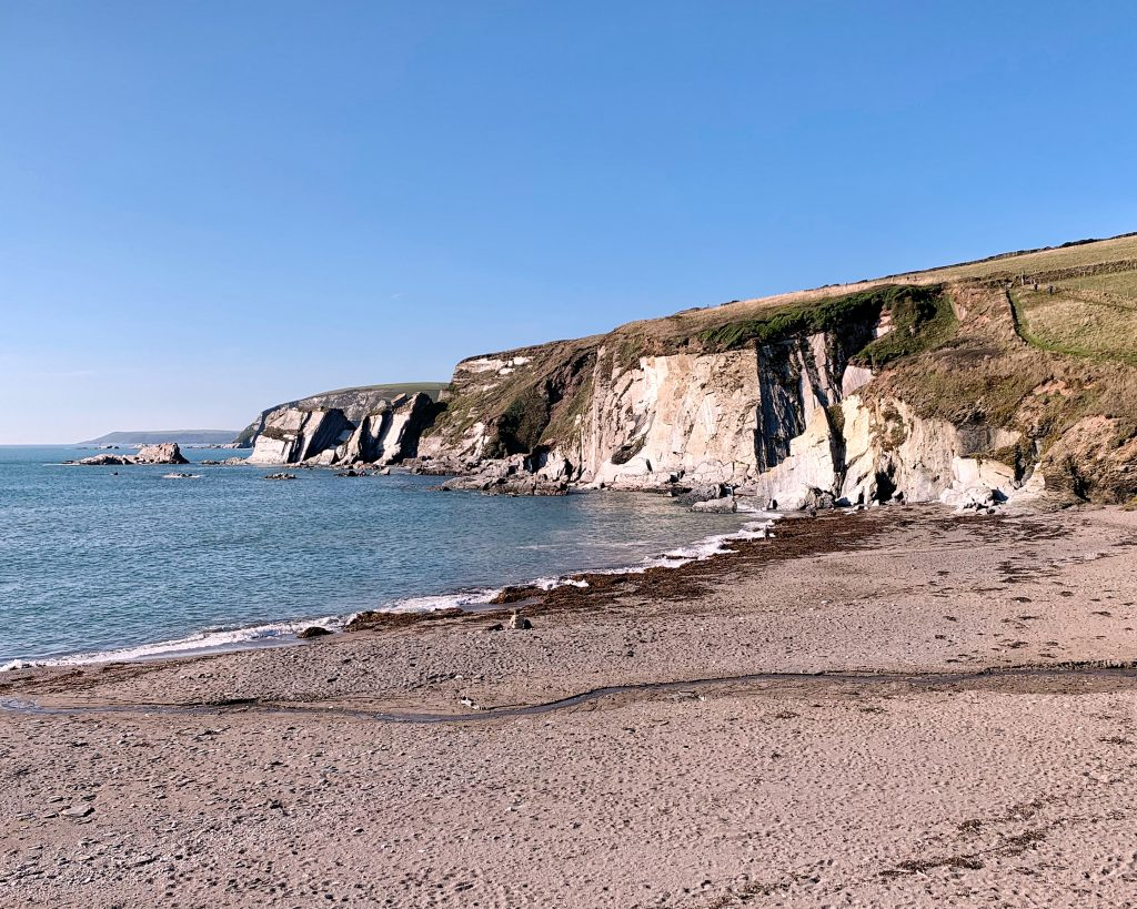 Ayrmer Cove, near Ringmore in the South Hams, Devon
