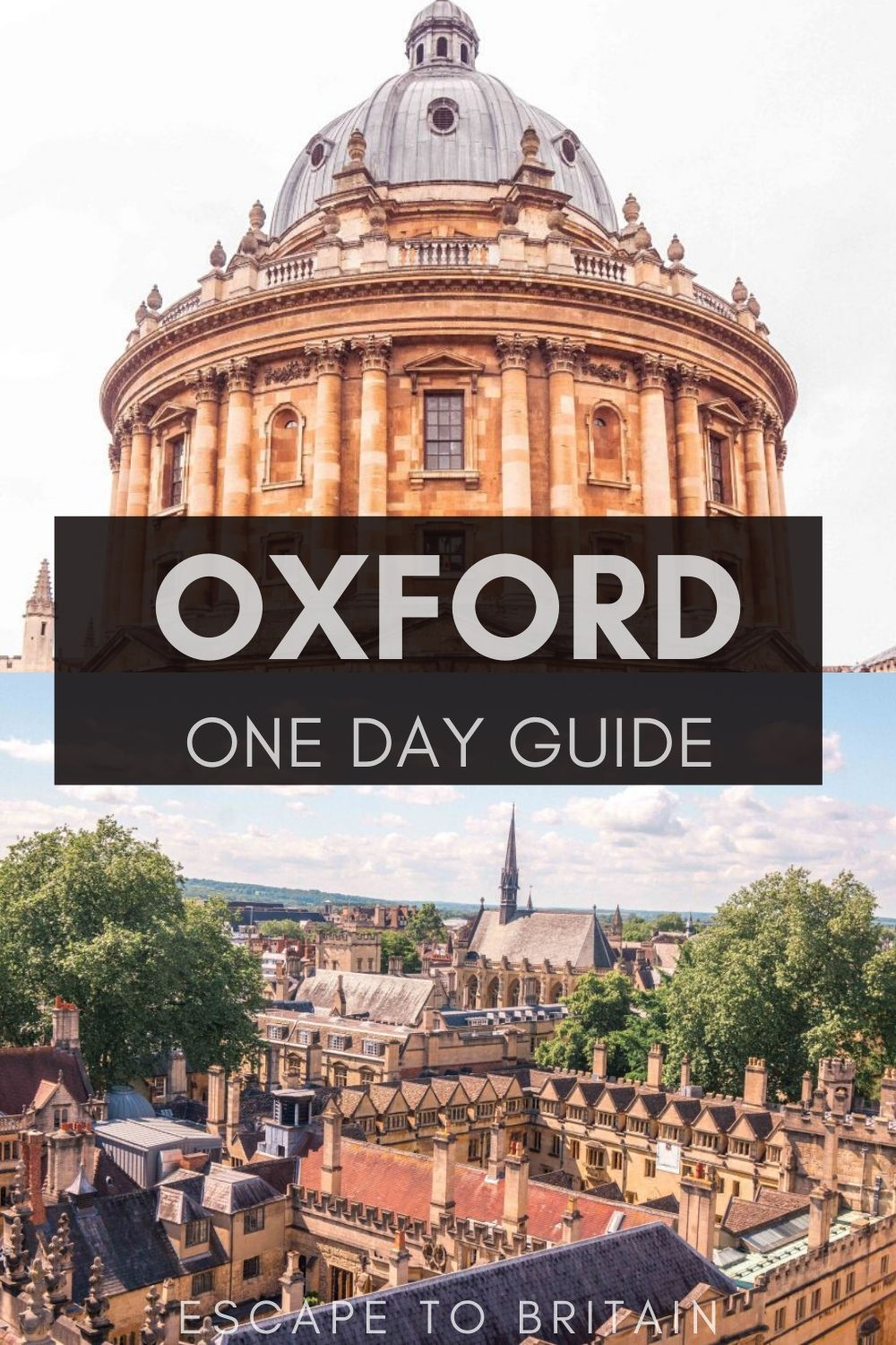 Things to do in Oxford: here's how to take a day trip from London to Oxford in England, the UK
