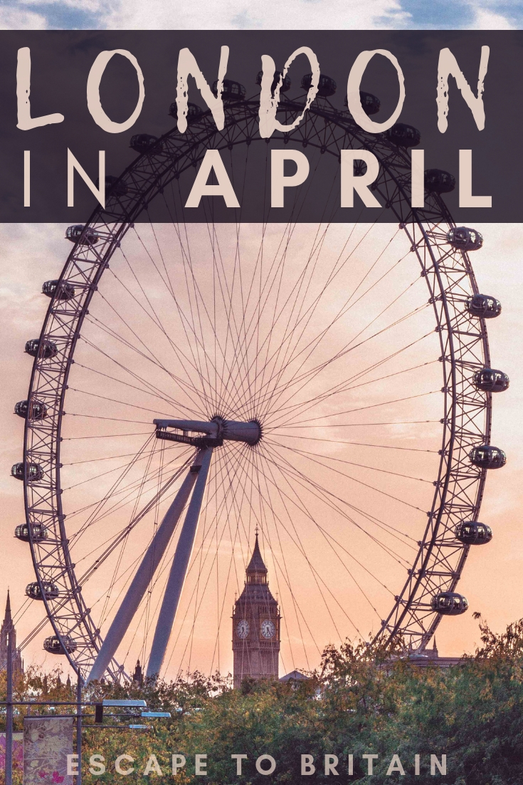 What's On? Your Go-To Guide for London in April. Looking for the best things to do in April during the Mid-Spring. Here's what to do, where to go and the best April London activities!