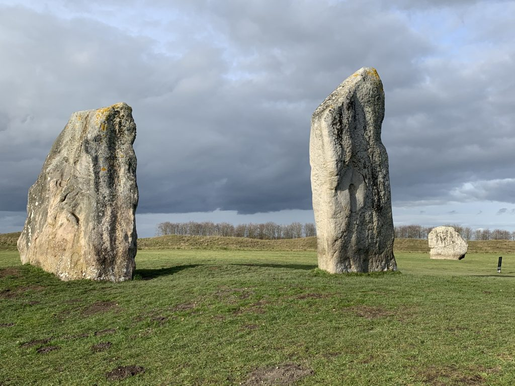 Stones at Avebury, Wiltshire