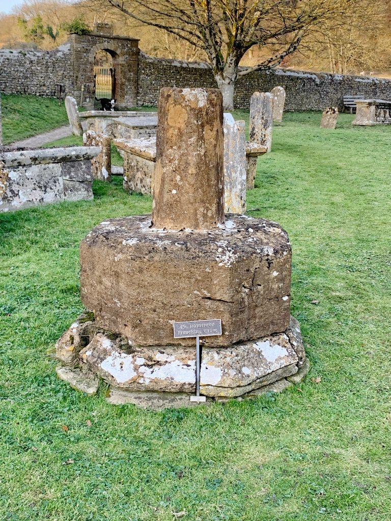 The 15th century Preaching Cross at Cerne Abbas, Dorset