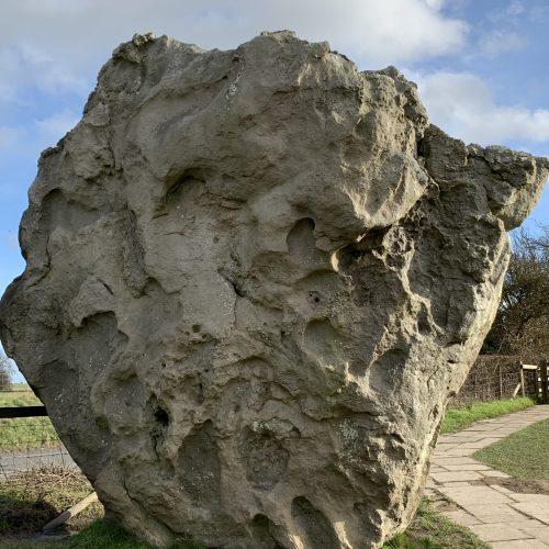 Stone at Avebury, Wiltshire