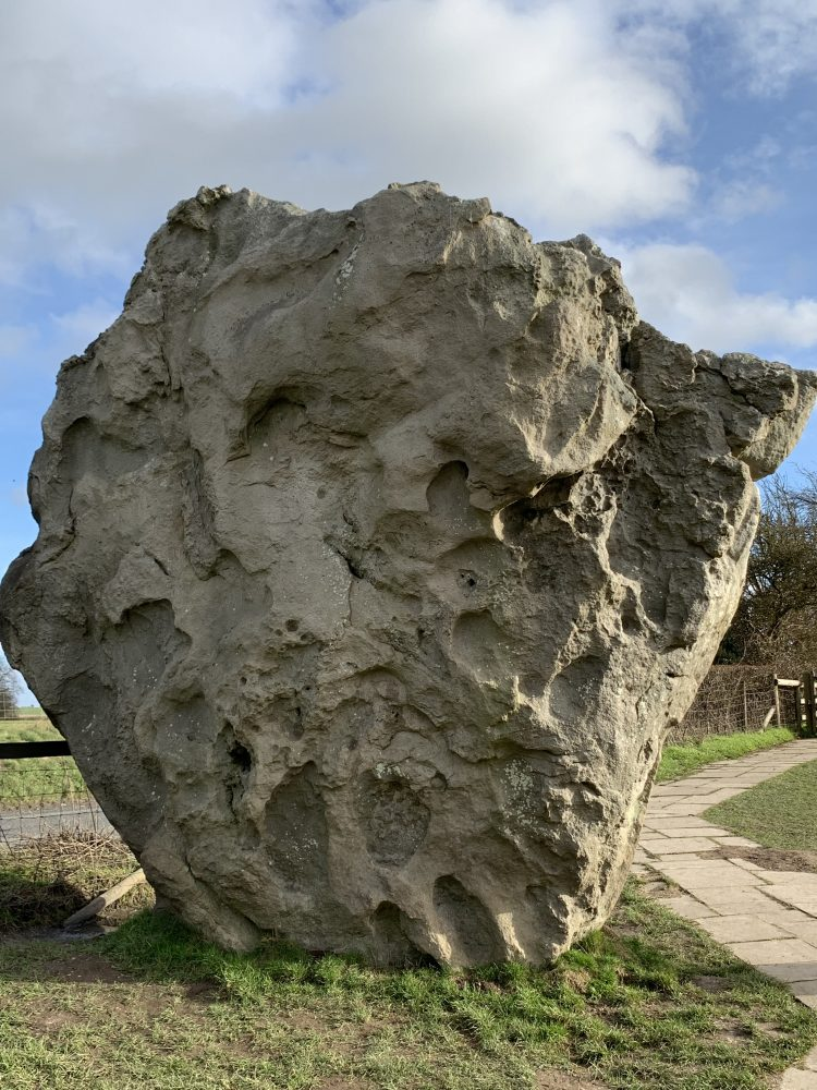 Stone at Avebury, Wiltshire