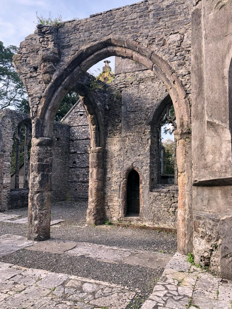 Buckfastleigh Church Ruins in Devon